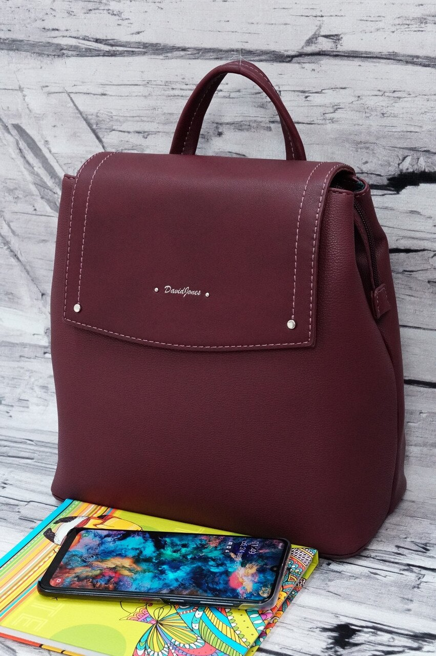 Рюкзак David Jones 6124-2 dark bordeaux.